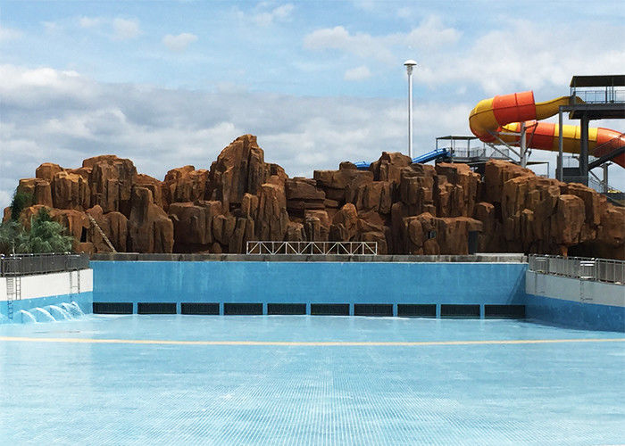 Adult / Child Big Wave Pool Holiday Resort Equipment With Wave Machine Compressor