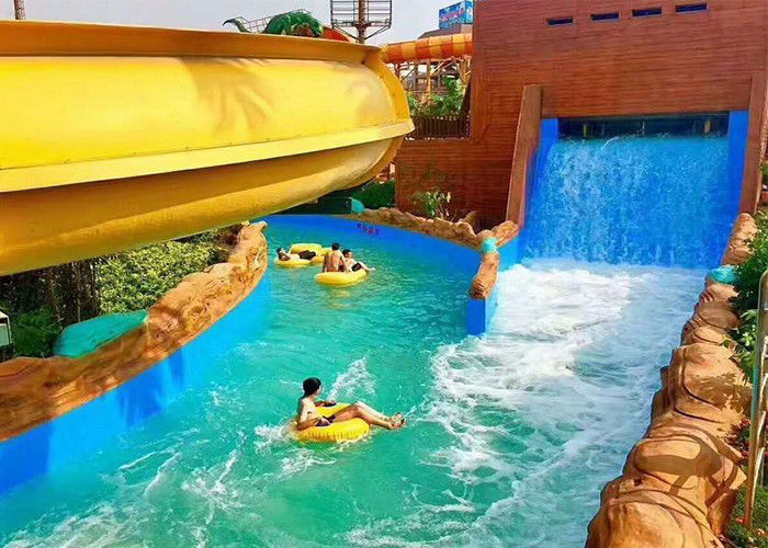 Aqua Park / Residential Lazy River Magnificent Outdoor Pool For Holiday Resorts