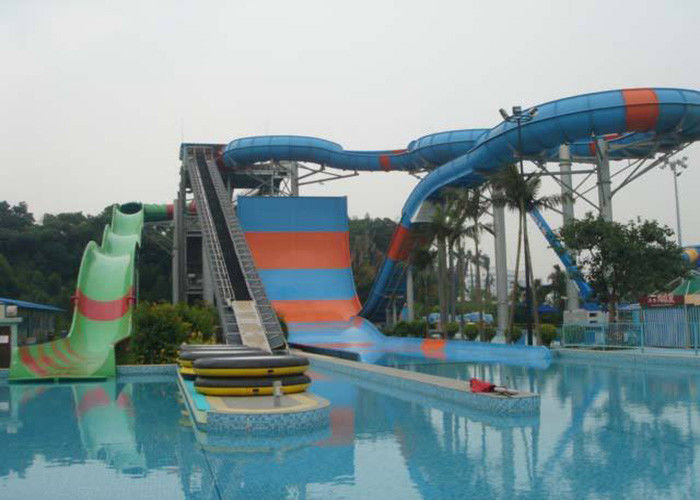 Giant Water Park Slide , Youth / Adults Fiberglass Super Bowl Water Slide