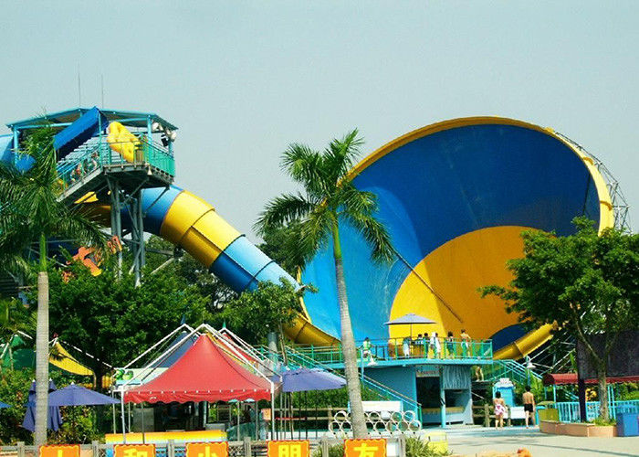 Big Holiday Resort Tornado Water Slide Amusement Water Park Equipments