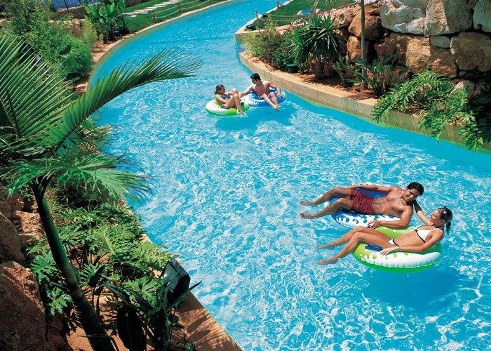 Family Fun Water Park Lazy River Artificial Pool With High