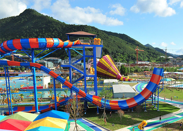 Super Boomerang Water Slide Playground of Shuixiuhua Town Theme Water Park