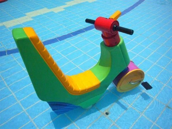 Interactive Aqua Park Kids Water Playground / Adults Water Motorcycle