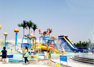 China Big Customized Slide Water Park Construction Project Children Playground factory