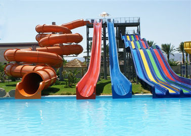 China Kids / Adult Aqua Park Water Slide Interactive Customized Water Toys factory