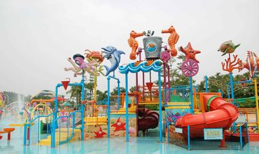 China Attractive Water Park Equipment Marine Theme Style Construction Play House factory