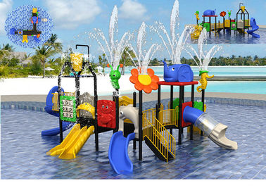 China Summer Child Outdoor Water Park Equipment For 10-30 People / Water Park Playground factory