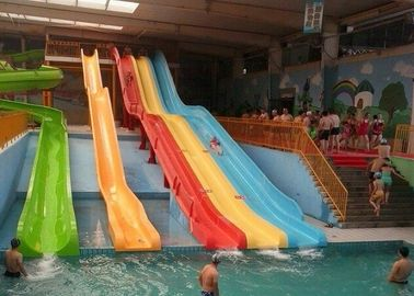 China Commercial Adult High Speed Body Water Slide Anti - Ultraviolet factory