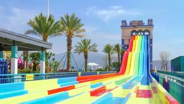 Super Boomerang Water Slide Playground / Fiberglass Water Slide Water Park Project