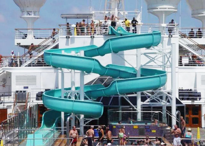 Customized Tube Water Slide Spiral Slide For Adult Outdoor Sport